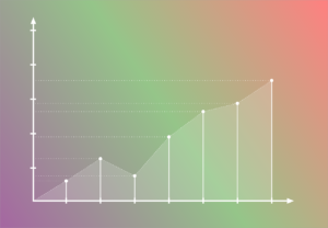 Colorful line graph