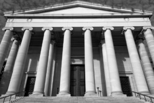 White court house