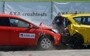 Vehicle crash test