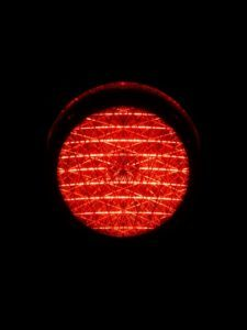 Traffic red light