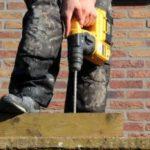 Man using tools