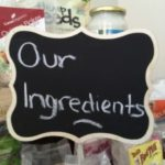 Ingredients sign