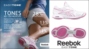 Reebok shoes poster