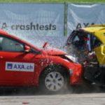 Vehicle crash test
