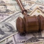 Gavel over money