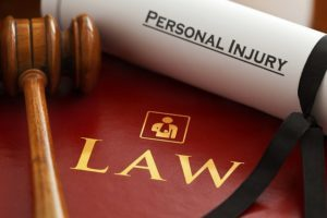 Personal injury and law book