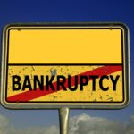 No Bankruptcy sign