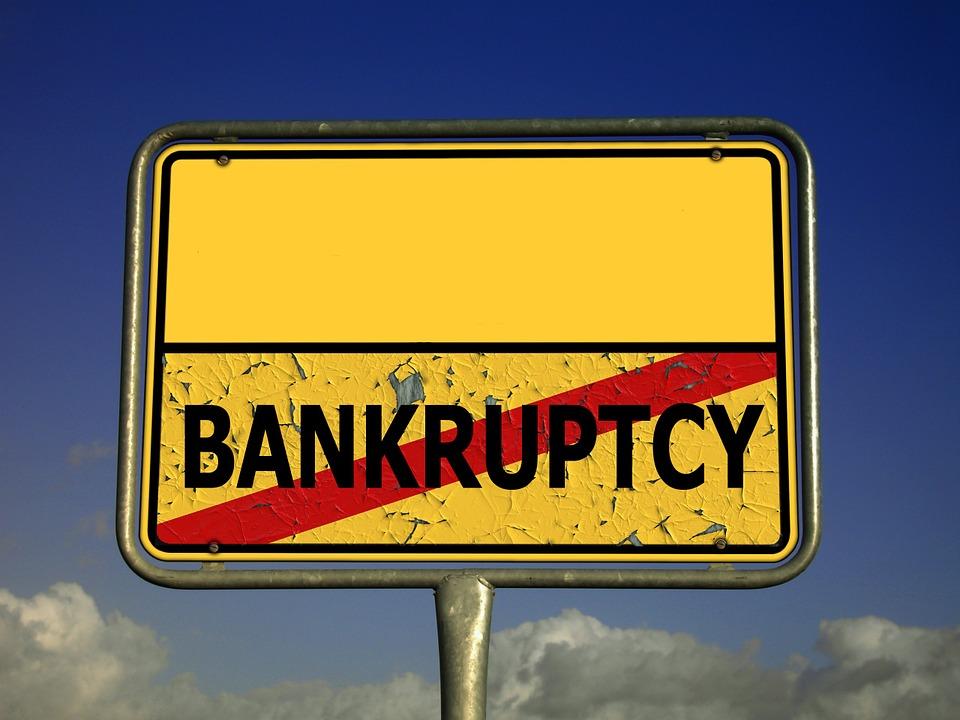 No Bankruptcy sign