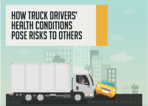 Truck driver infographic