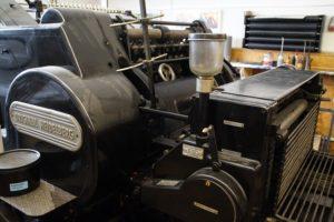 printing presses, work injury