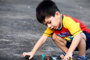 a child playing on road, accident lawyers