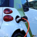 an electric car, car accident lawyer
