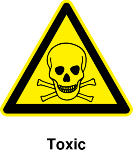 toxic sign, personal injury lawyer