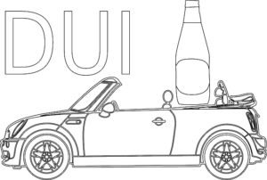 car and beer, DUI, accident lawyer