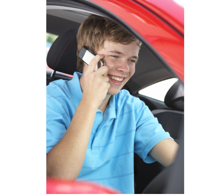 Teen driver distracted driving